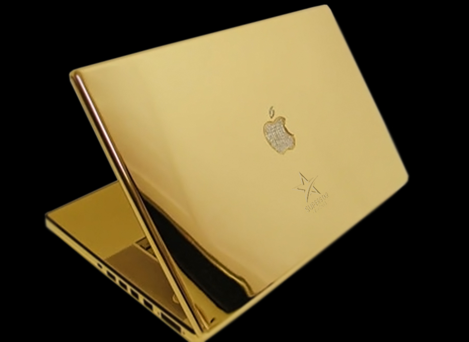 Gold Plate my MacBook Pro