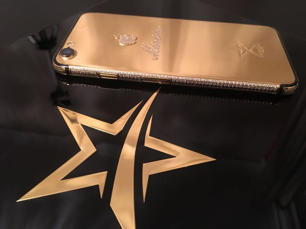 24K Gold Iphone 7
