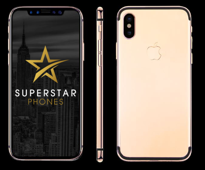 iPhone X 18Kt Rose Gold